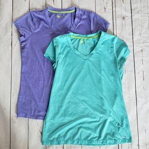 Xersion athletic shirts 2pk